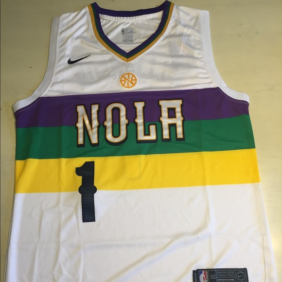 Nwt Zion Williamson New Orleans Pelicans Jersey Nwt